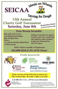 13th Annual Meals on Wheels Charity Golf Tournament - SEICAA